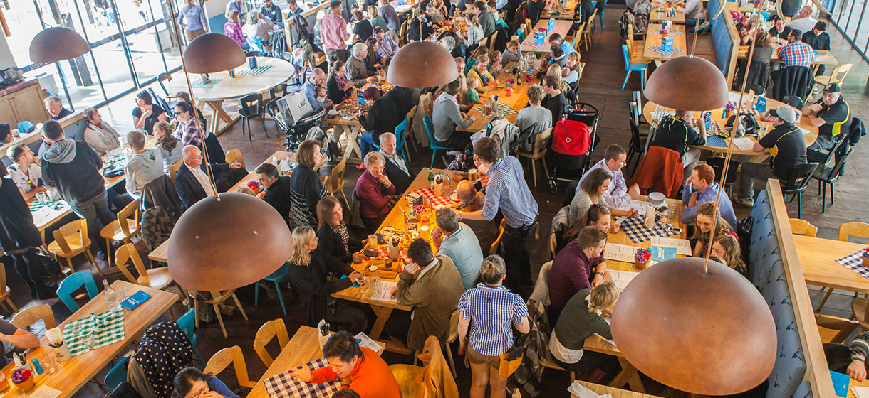 Munich Brauhaus throws Bavarian-style 3rd birthday bash