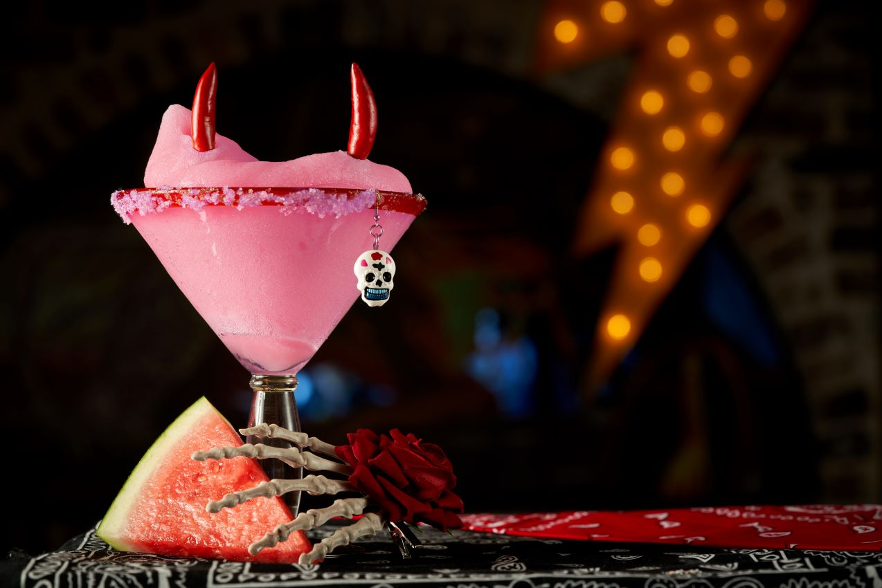 El Camino Cantina Day of the Dead margarita