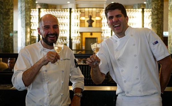 Rockpool Bar & Grill's Corey Costelloe and Santiago Aristizabal