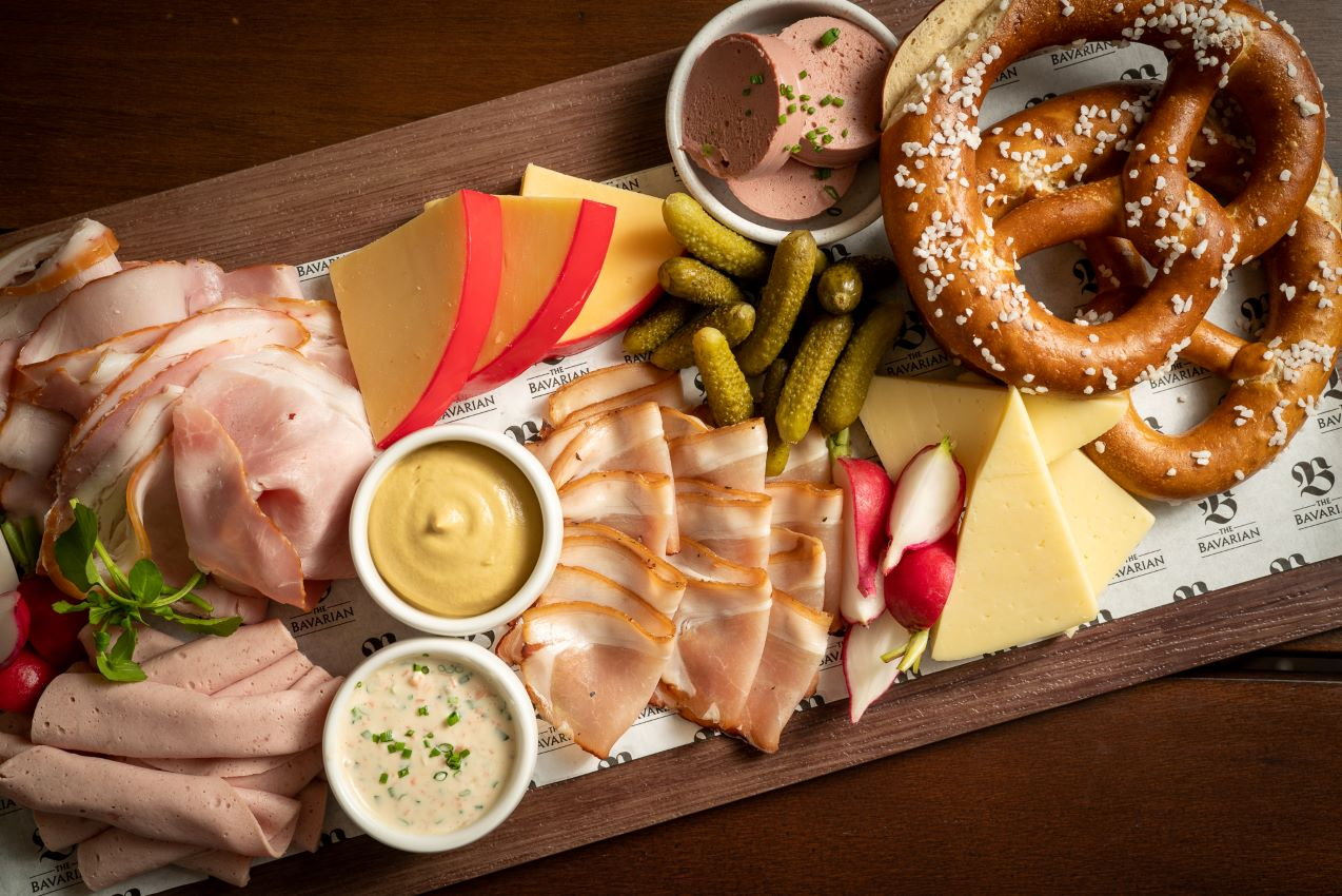 The Bavarian Cold Meats Cheese Platter