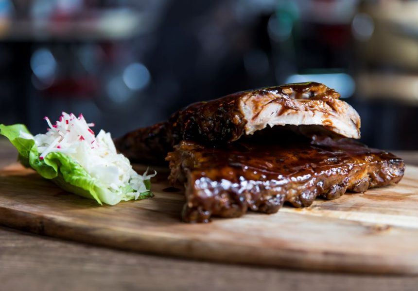 Fire up the grill for The Bavarian's sticky ribs